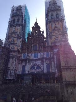 Cathedral of St. James in Santiago de Compostela